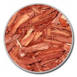 Paillage - Pallis 100 % NATUREL de bois coloré en rouge