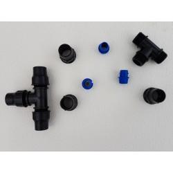 Raccord robinet pour tuyaux diamètre 20 mm