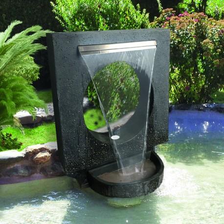 Fontaine de jardin MIRE + bac à encastrer 120 cm