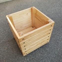 Jardinière en bois 50 x 50 x 49,5 cm