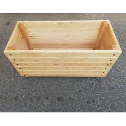 Jardinière en bois 100 x 50 x 49,5 cm