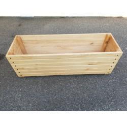 Jardinière en bois 150 x 50 x 49,5 cm